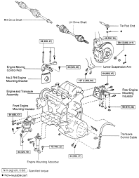 2000 ford truck explorer 4wd 4 0l mfi sohc 6cyl repair guides exploded view of the engine removal and related components cont es300