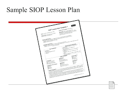 Siop Lesson Plan Template 1 Best Of Images Model Lesson Plan Template Systems Com Siop 8 Free