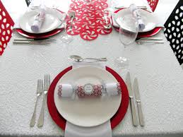 Christmas Table Setting Christmas Table Settings Decorations And Centerpieces For