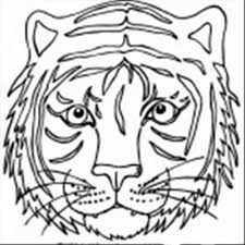 Small Picture Get This Tiger Face Coloring Pages Free Printable 37192