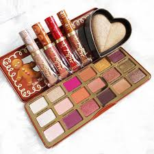 Too Faced Love Light Highlighter Debenhams Sweethearts Bronzer Gingerbread Palette Christmas Makeup