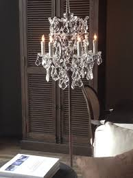 latest free standing chandelier lamps with home design marvelous floor standing chandelier lamp black home