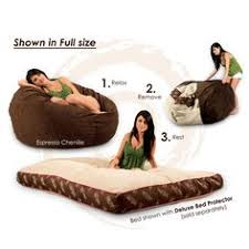 Chairs that convert to beds Ottoman Saw This On Shark Tank Looks Amazing Bean Bag Bed Bean Bag Chair Bapeltanjabarinfo 12 Best Convertible Futons Images Futons Convertible Futon Bed