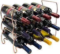 3-Tier Stackable <b>Wine Rack</b> Round Classic Style <b>Wine Racks for</b> ...