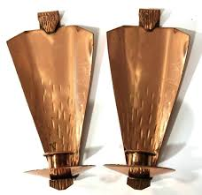 copper wall sconce candle copper candle wall sconces lot copper wall sconce candle holder
