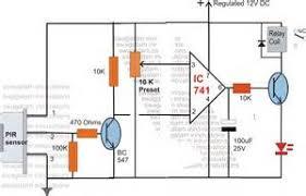 pir motion detector circuit diagram images pir motion detector circuit wiring diagrams