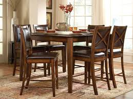 Outstanding Tall Dining Room Tables Counter High Dining Set Png - Tall dining room table chairs