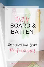 Board And Batten Dimensions Diy Board And Batten Tutorial