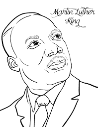 Small Picture Free Martin Luther King Coloring Page