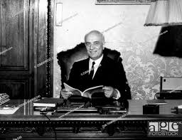 June 7, 1968 - Rome, Italy - AMINTORE FANFANI (February 6, 1908 - November  20, Stock Photo, Picture And Rights Managed Image. Pic.  ZUK-19500806-SHI-K09-240