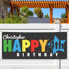 Happy Birthday Banners Personalized Personalized Welcome Banners Custom Banners Giftsforyounow