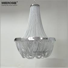french empire chain chandelier light fixture for restaurant modern long hanging suspension drop lustre lamp long chain chandelier a5