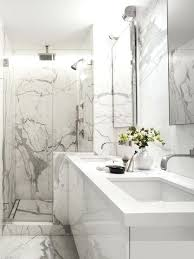 marble bathroom designs. White Marble Bathrooms Inspiration For A Contemporary Tile And Floor Alcove Shower Bathroom Designs