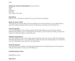 Cover Letter Employer Name Adriangatton Com