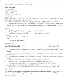 Medical Lab Technician Resume Sample Best Med Tech Resume Llun