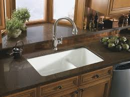 surprising kitchen sinks for granite countertops dark brown countertop combined with ceramic white undermount sink furniture combination options with