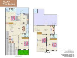 30 x 60 house plans west facing for 60 x 60 house plan