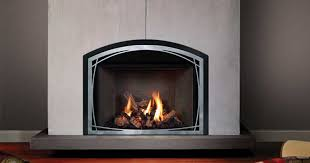 say goodbye to drafts messy ashes and hours spent stacking and storing wood mendota direct vent gas fireplace inserts convert your woodburning fireplace