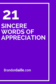 Words Of Appreciation For Employee 21 Sincere Words Of Appreciation Cards Sentiments Pinterest