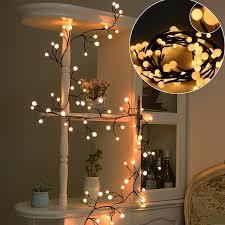 Decorative Lights Walmart 23ft Long Led String Lights Warm White Christmas Decorative Lights Globe String Lights For Room Party Wedding Garden