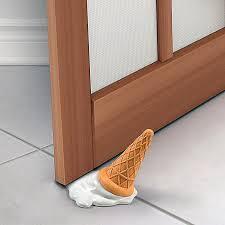 door stopper. Ice Cream Splat Door Stopper