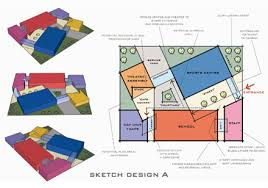 architecture design concept. Plain Concept Drawings  Intended Architecture Design Concept