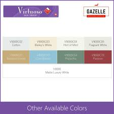 Boysen Virtuoso Color Chart Boysen Virtuoso Odorless And Anti Bacterial Paint With Teflon Matte Luxury White 4l