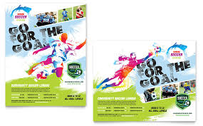 Soccer Flyer Word Template Youth Soccer Poster Template Word