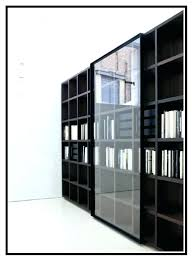 bookcase bookcase sliding doors glass door cabinet do not with 3 drawers white stain
