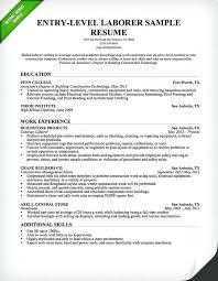 Entry Level Resume Template Microsoft Word Basic Entry Level Resume Ptctechniques Info