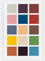 16 Color Chart