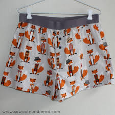 Boxer Pattern Magnificent Freebie Sewing Patterns Men's Boxer Shorts Sew Outnumbered
