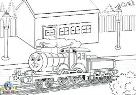 Thomas Train Coloring The Tank Engine Coloring Book For Terrific