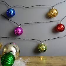 Mercury Glass String Lights Martha Stewart Mercury Glass Globe String Lights Battery Operated 7 5 Feet Multicolored