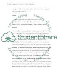 reader response essay example argumentative essay sample  reading response to a poem essay example examples of reader response essays reader response essay