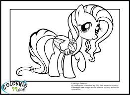Small Picture little pony friendship is magic coloring pages fluttershy