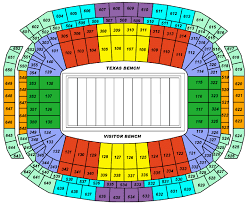 Reliant Arena Houston Seating Chart Reliant Stadium Seating Chart
