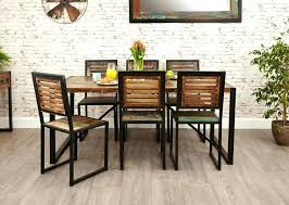 round dining room table and chairs. Wooden Table Set Dining Room And Chairs Dark Wood Round