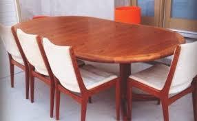 new teak dining room furniture
