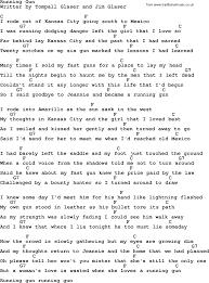 lighting cords. Marty Robbins Song: Running Gun, Lyrics And Chords Lighting Cords A