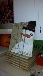 pallet painting ideas christmas. snowman pallets. pallet painting ideas christmas s