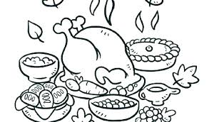 Thanksgiving Coloring Pages To Print Mycoloring