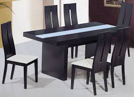 amazing inspiring black dining tables with wood table on