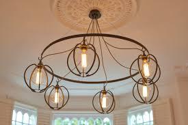 elegant globe chandelier for your home lighting idea six circle globe chandelier for modern living