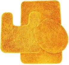 orange bathroom rugs sweet home collection 3 piece bathroom rug set orange bath mat contour orange bathroom rugs