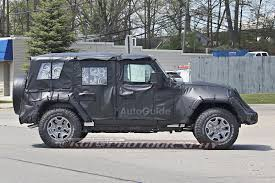 2018 jeep wrangler 4 door. wonderful door 2018jeepwranglerspyshots4 throughout 2018 jeep wrangler 4 door