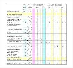 Training Schedule Calendar Template Excel Running Plan Jjbuilding Info