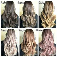 Light Brown Hair Color Chart Light Brown Hair Color Chart