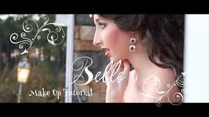 belle face character makeup tutorial