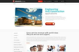 Html5 Website Templates Gorgeous Free HTML48 Website Template For Industrial Business MonsterPost